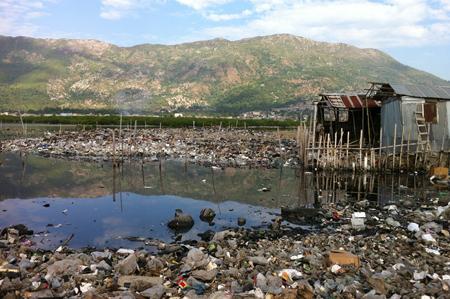 Polders déchets Cap Haitien