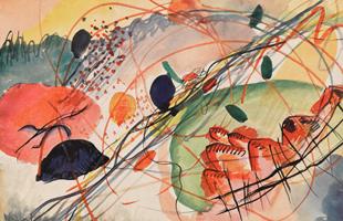 Wassily_Kandinsky,_Aquarell_6,_Kunstdrucke_auf_japanpapier