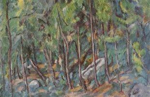 Paul Cézanne- Forêt de Fontainebleau