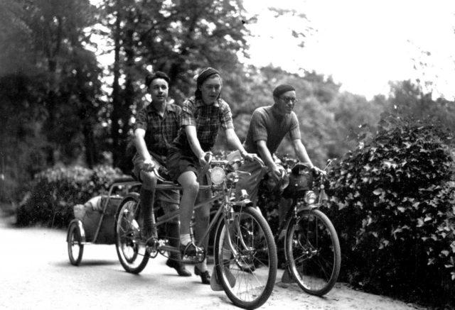 Les congés payés à vélo